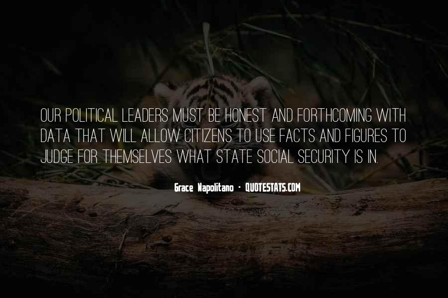 Quotes About Honest Leaders #1691867