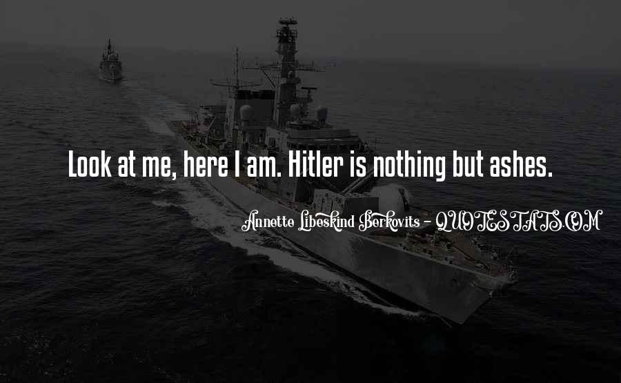 Quotes About Holocaust From Survivors #217511