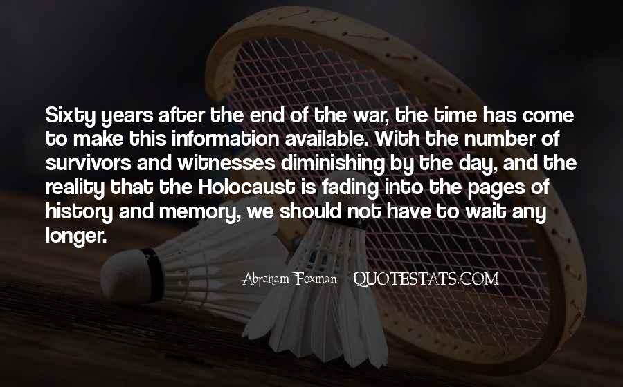 Quotes About Holocaust From Survivors #490767