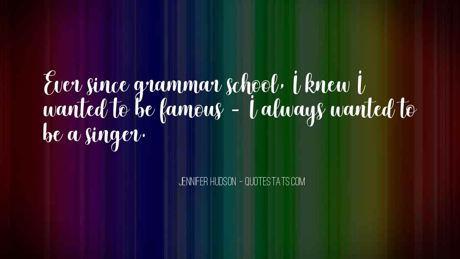 Famous Grammar Quotes #1354841