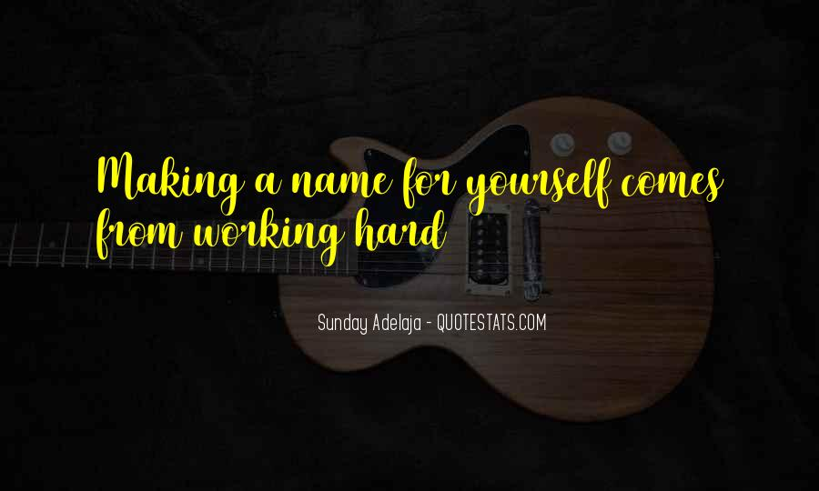 Famous Hard Working Quotes #1767516