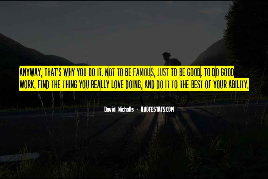Famous Just Do It Quotes #1122237