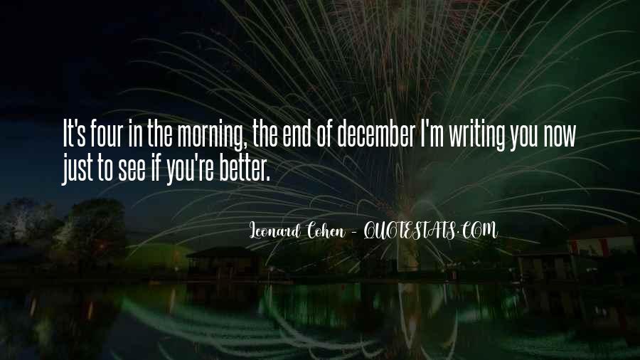 Famous Leonard Cohen Quotes #649616