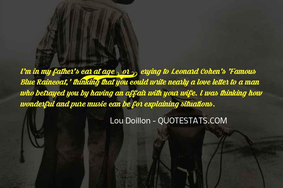 Famous Leonard Cohen Quotes #815435