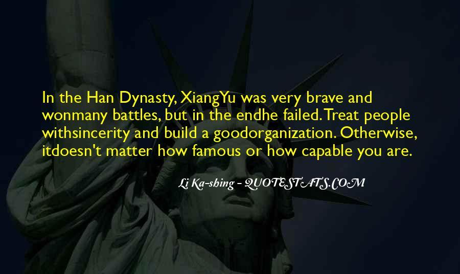 Famous Li Ka Shing Quotes #238319
