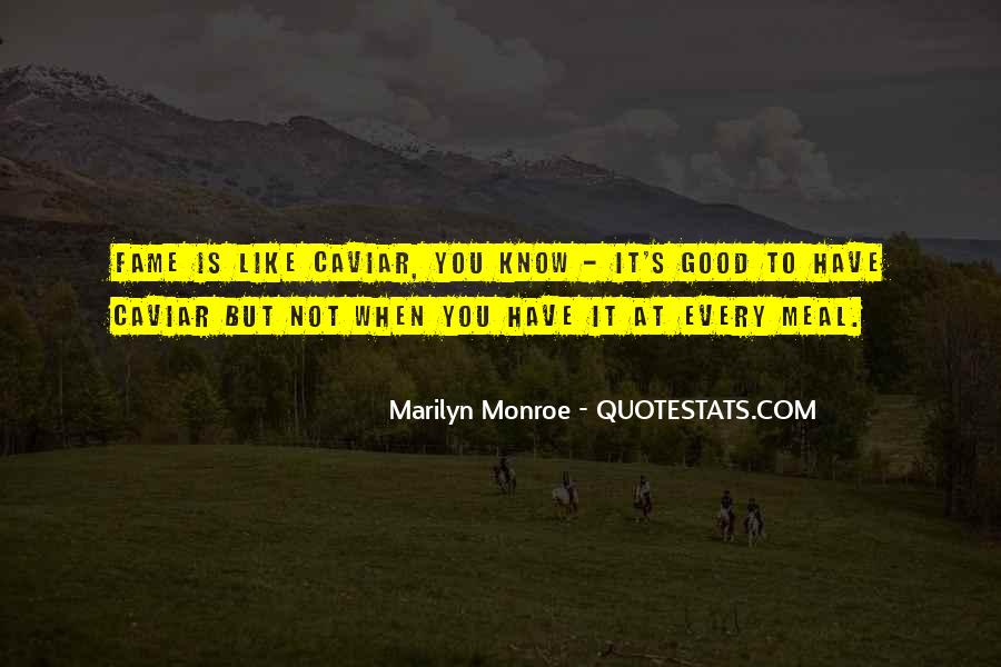 Famous Marilyn Quotes #1403690
