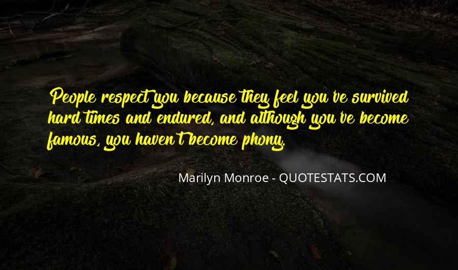 Famous Marilyn Quotes #491194