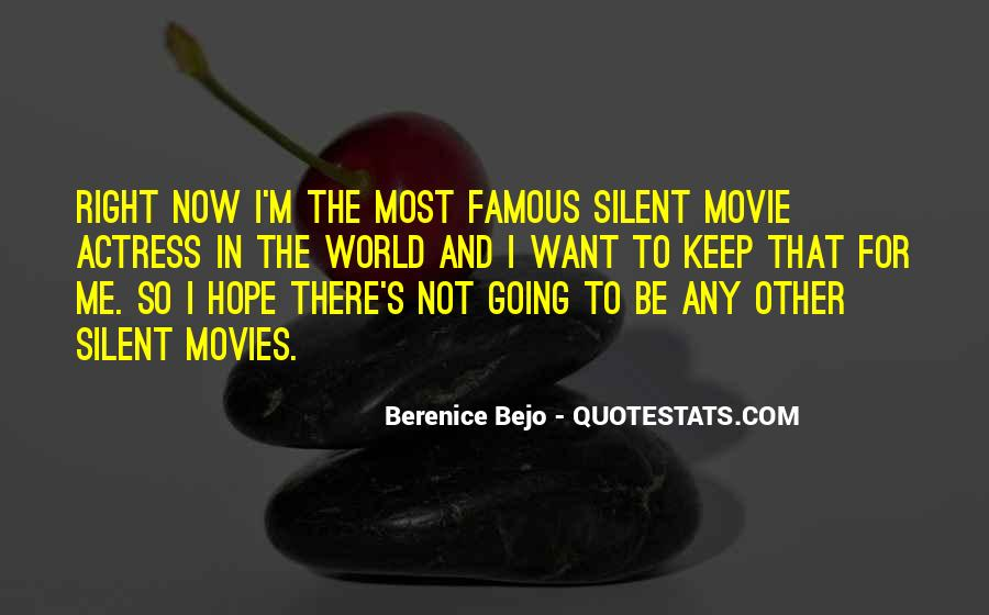 Famous Movie Quotes #1016901