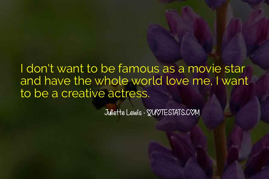 Famous Movie Quotes #1064809