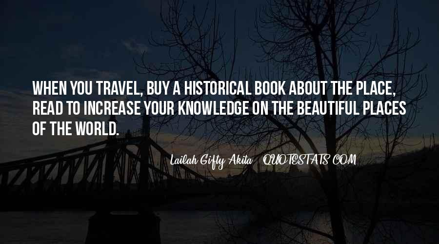 Quotes About Historical Place #1160271