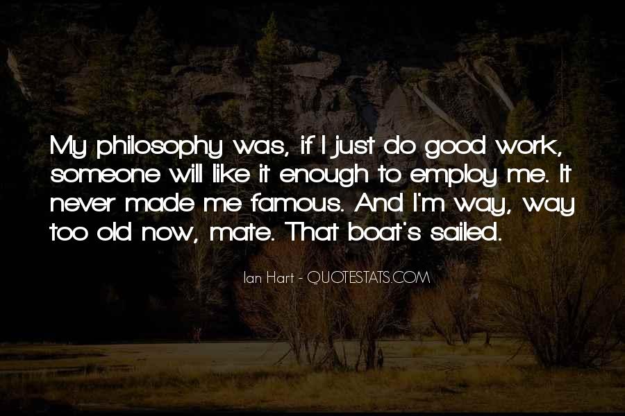 Famous Philosophy Quotes #1031159