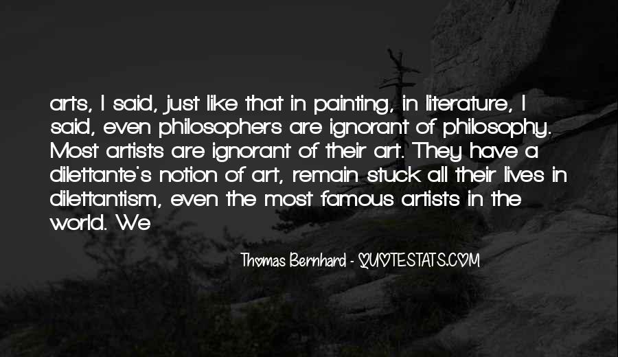 Famous Philosophy Quotes #1850181