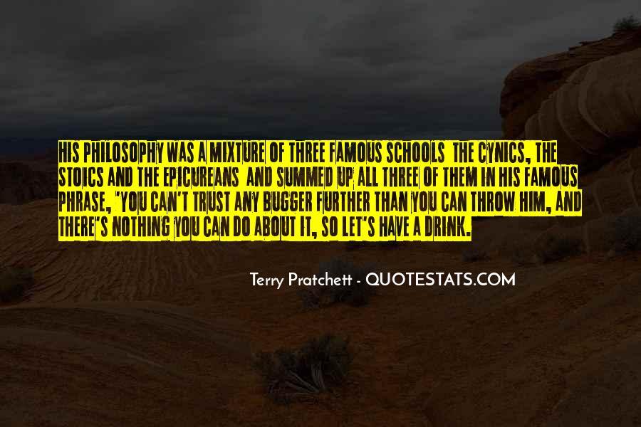 Famous Philosophy Quotes #263308