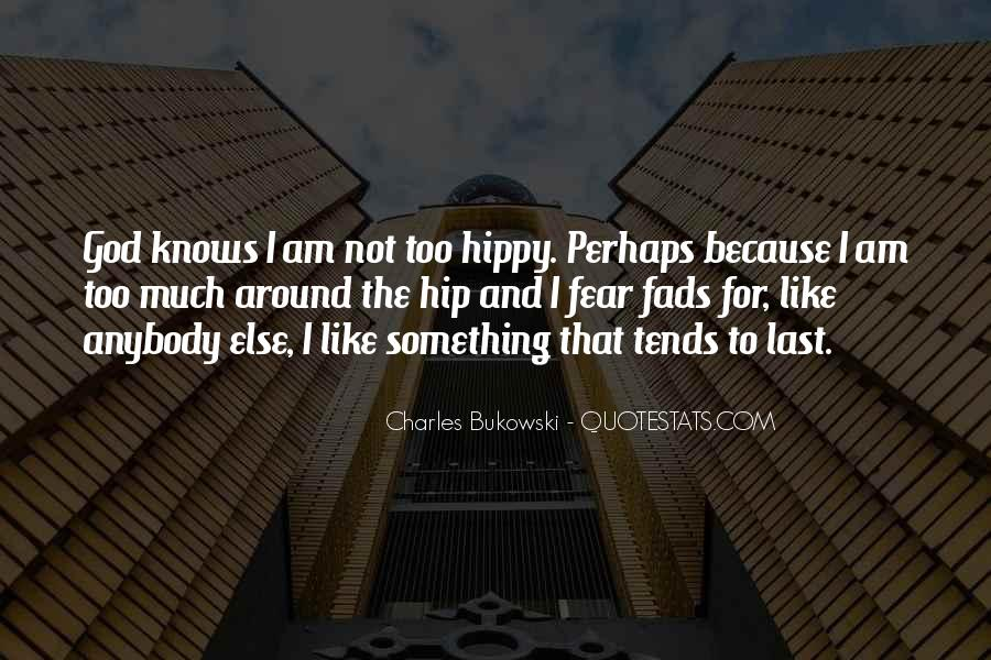Quotes About Hippy #1275104