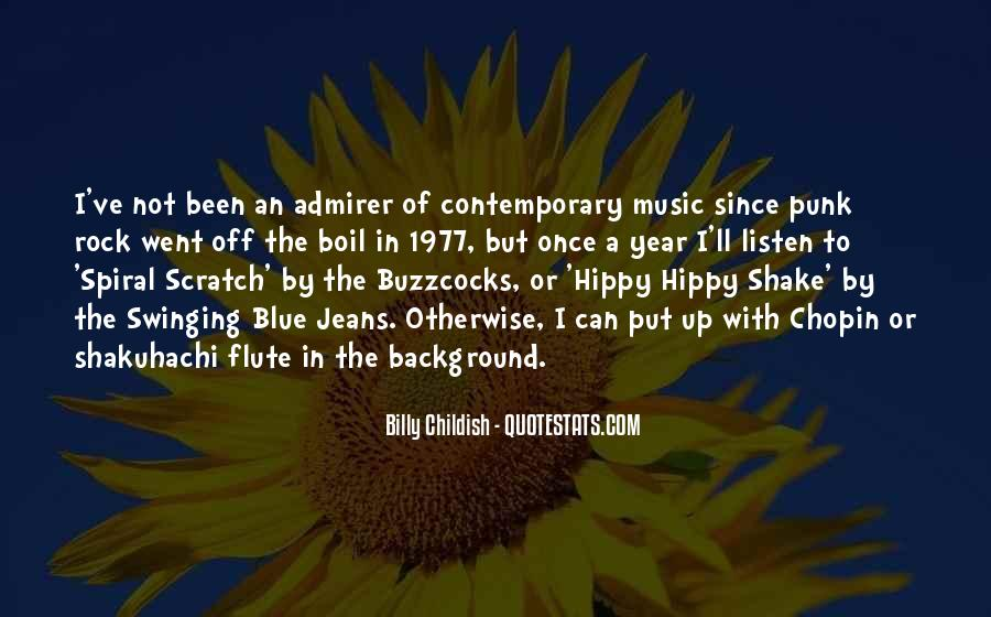 Quotes About Hippy #1372734