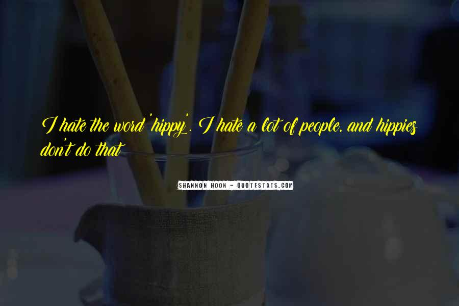 Quotes About Hippy #1641771