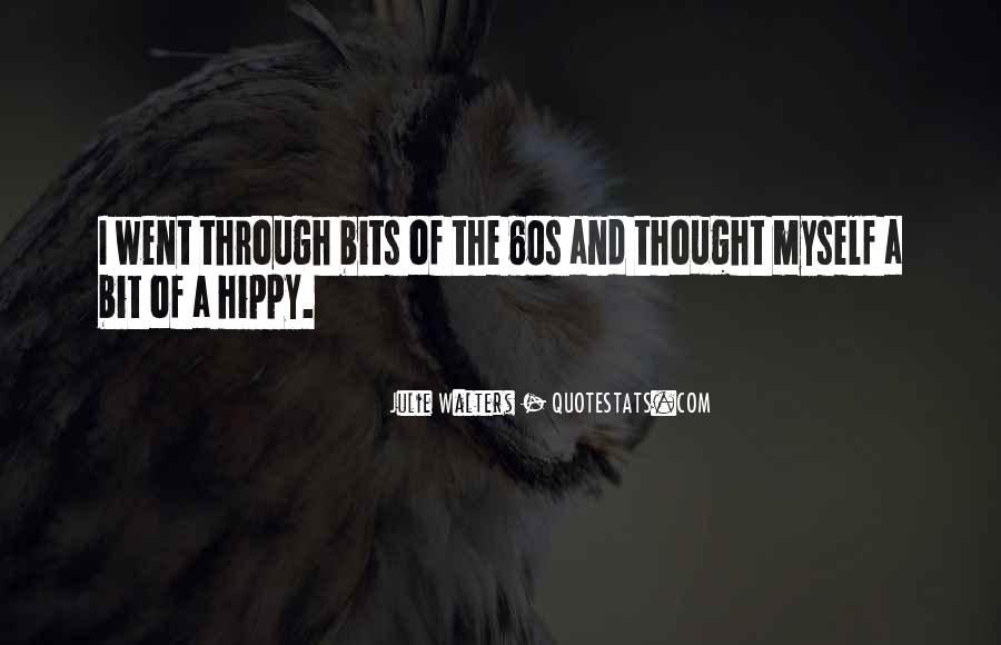 Quotes About Hippy #1775736