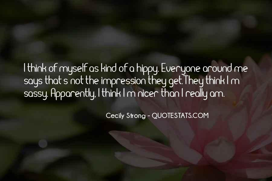 Quotes About Hippy #1842798