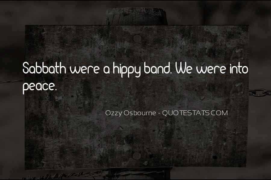 Quotes About Hippy #939908