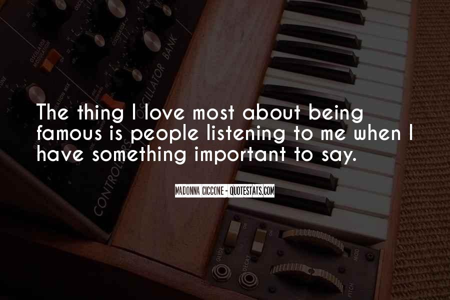 Famous R&b Love Quotes #302991