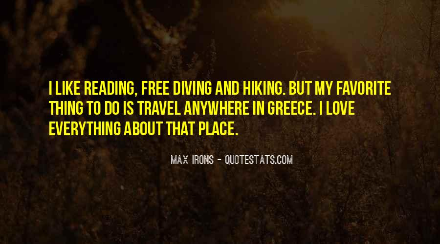 Quotes About Hiking With Your Love #888801