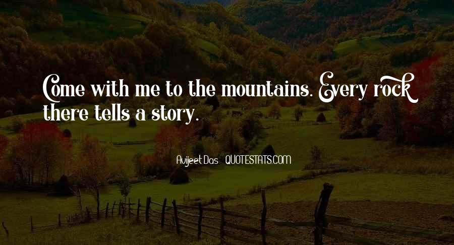 Quotes About Hiking In Mountains #1056253