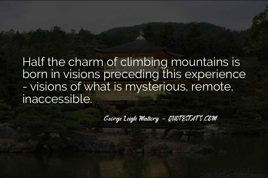 Quotes About Hiking In Mountains #1057631