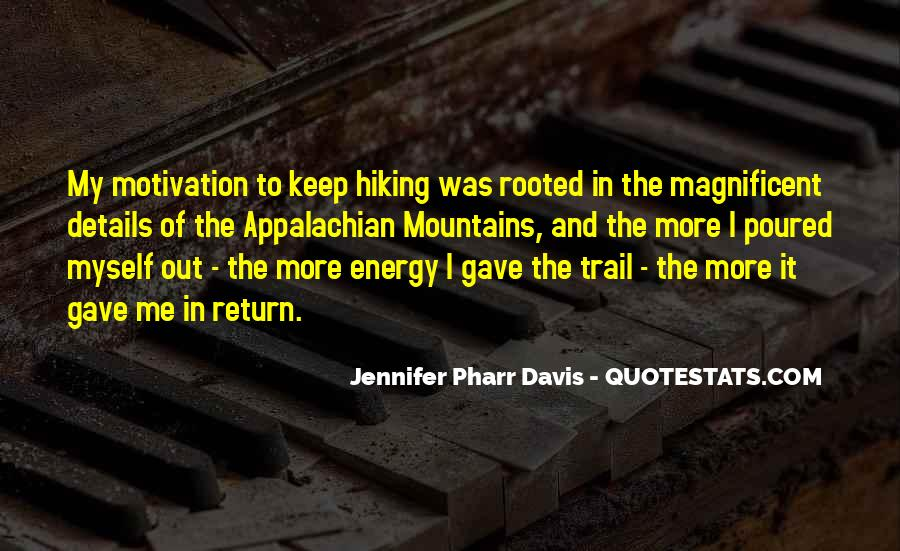 Quotes About Hiking In Mountains #113452