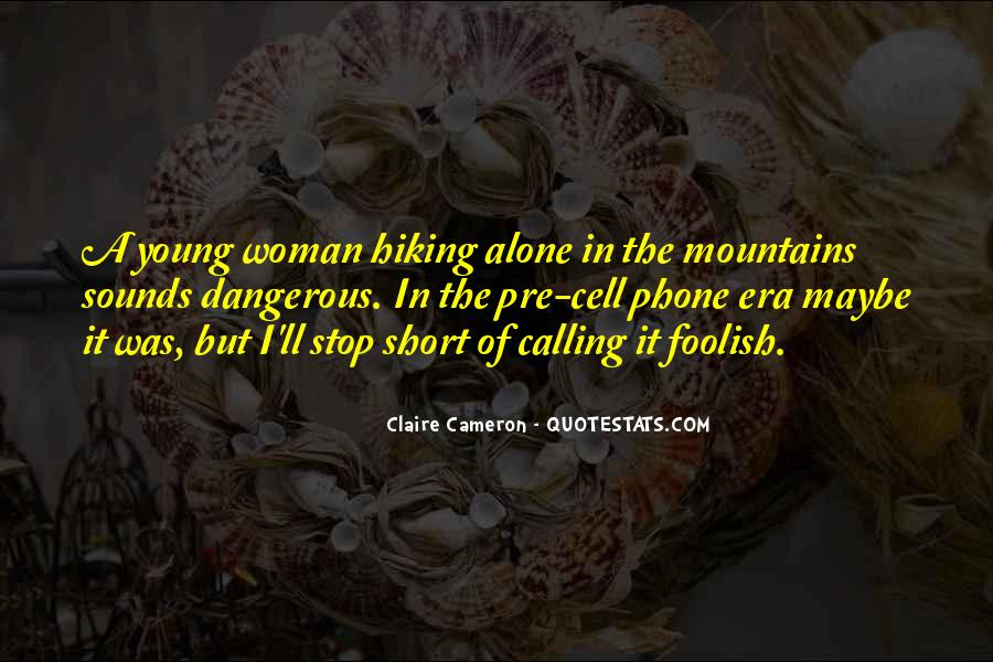 Quotes About Hiking In Mountains #114228