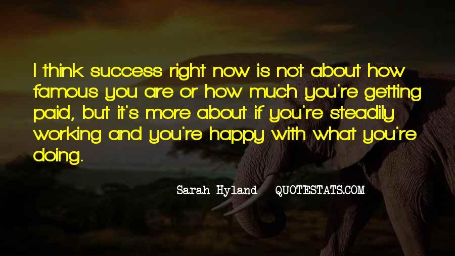 Famous Success Quotes #1131675