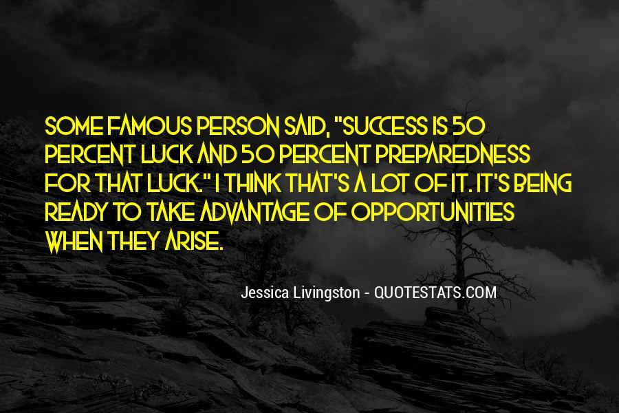 Famous Success Quotes #1254701