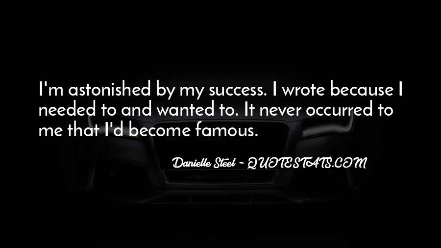 Famous Success Quotes #1474500