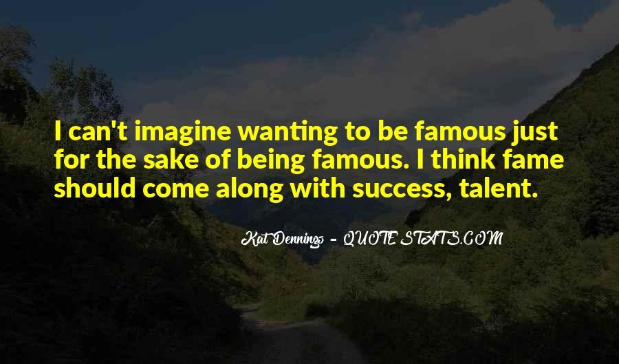 Famous Success Quotes #1712499