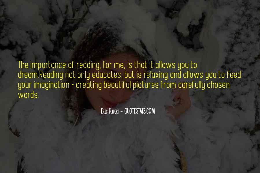 Quotes About The Importance Of Reading #1031736