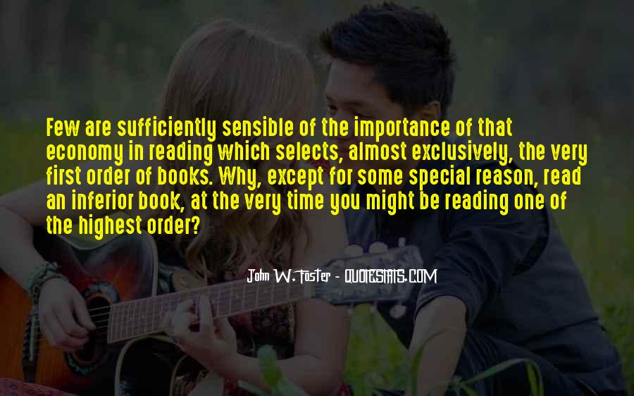 Quotes About The Importance Of Reading #1046718