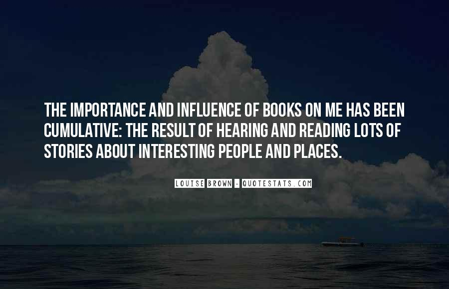 Quotes About The Importance Of Reading #1154055
