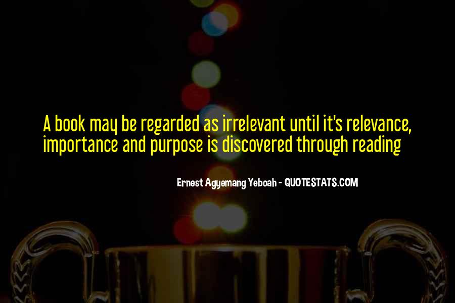 Quotes About The Importance Of Reading #1172668