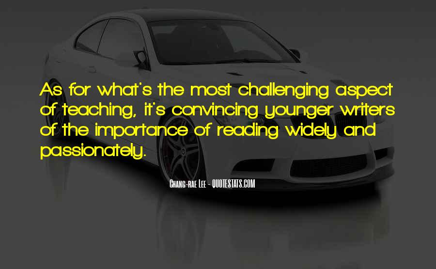 Quotes About The Importance Of Reading #1529934