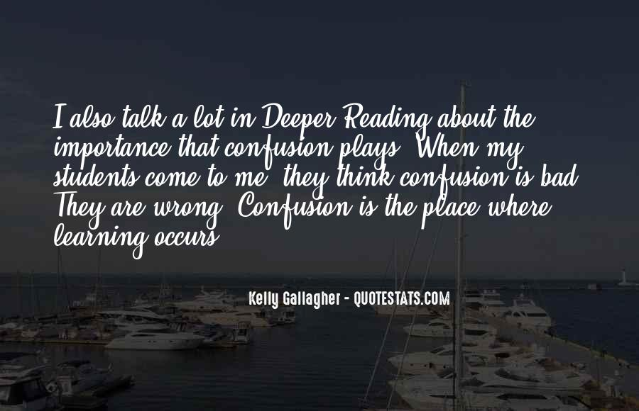 Quotes About The Importance Of Reading #1683287