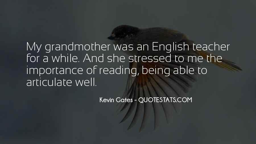 Quotes About The Importance Of Reading #190869