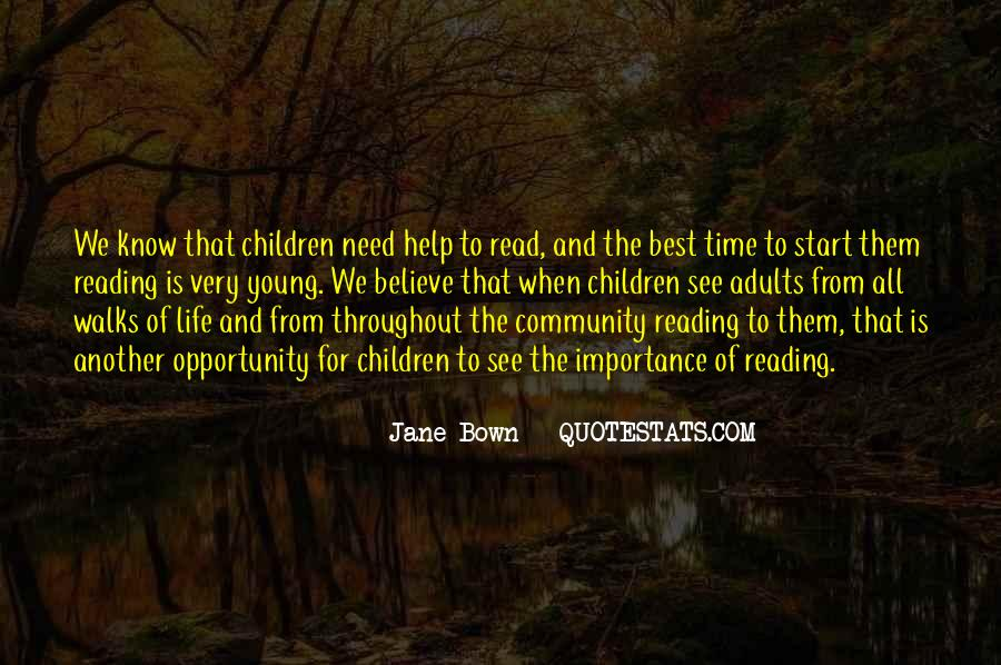 Quotes About The Importance Of Reading #255626