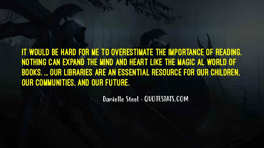 Quotes About The Importance Of Reading #464560