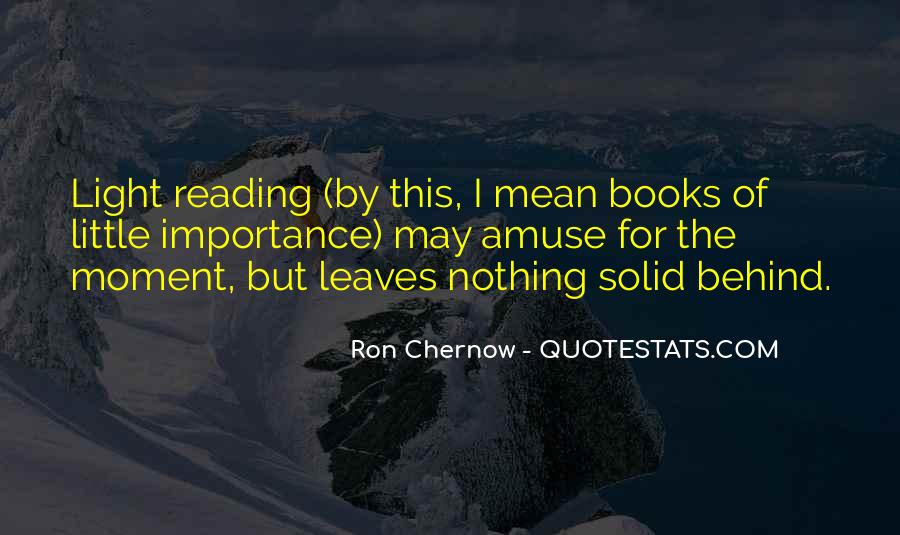 Quotes About The Importance Of Reading #496744
