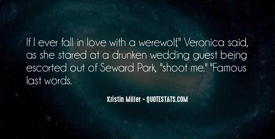 Famous Werewolf Quotes #872039