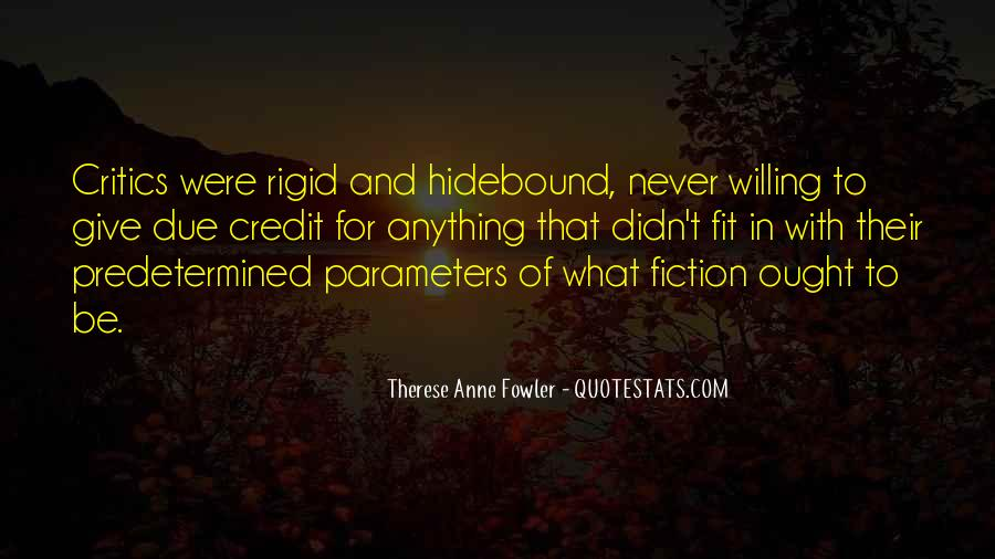 Quotes About Hidebound #1773128