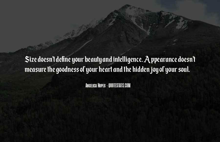 Quotes About Hidden Intelligence #1481561
