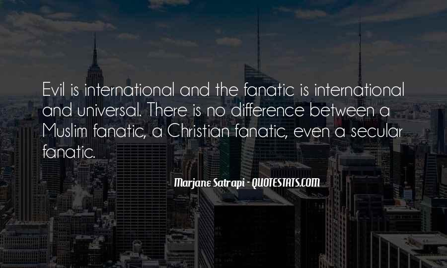 Fanatic Christian Quotes #794467