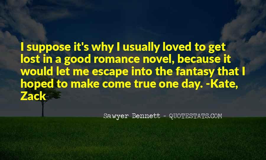 Fantasy Novel Love Quotes #324461