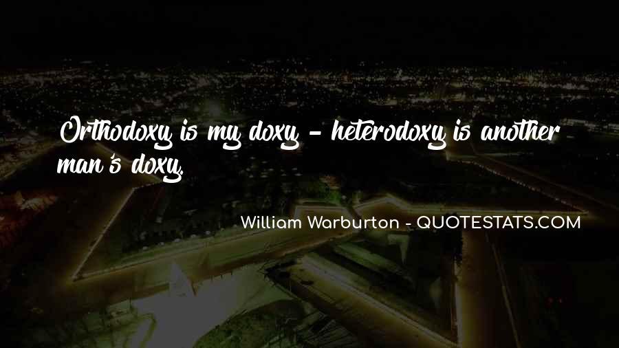 Quotes About Heterodoxy #1482097