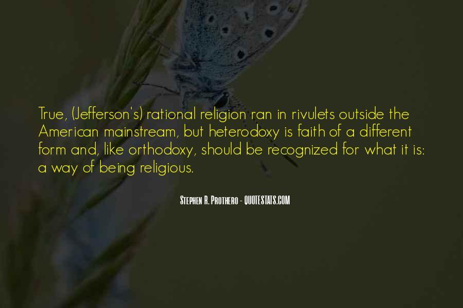 Quotes About Heterodoxy #868952